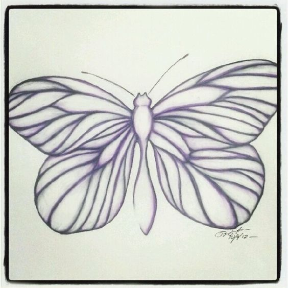 100 Butterflies in 100 Days, Day 3, Medium: Color Pencil