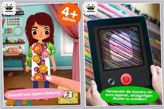 Toca Tailor Kinder App iPad iPhone (2)
