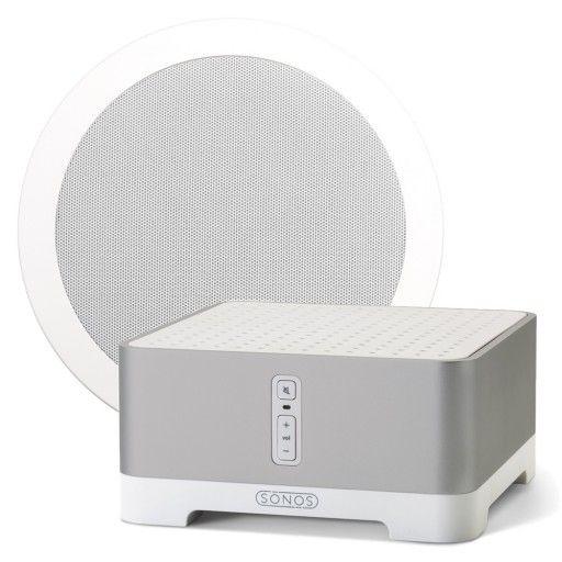 Bathroom Sonos Bundle Amp Waterproof Single Stereo Speaker