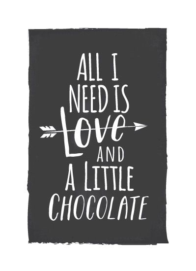 Love and Chocolate by Karidy Walker