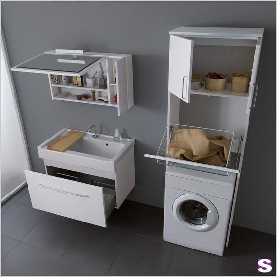 Die besten 25+ Einbauschrank waschmaschine ikea Ideen auf - waschmaschine in der k che verstecken