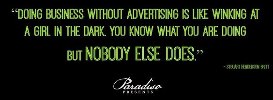 Stop winking in the dark ;)