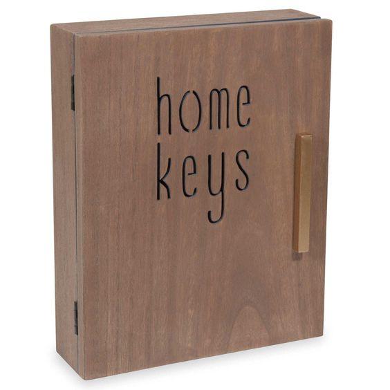 Boîte à clés 20 x 25 cm CARVING HOME