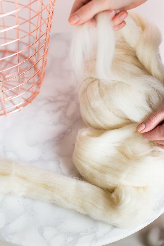 DIY Wool Woven Paper Basket Tutorial | @fallfordiy