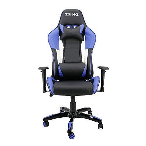 Zenez Chaise Gaming Ergonomique Pour Chaise De Jeu Ordinateur Avec Support Lombaire De Massage Fauteuil De Style Course Chaises In 2020 Gaming Chair Chair Office Chair