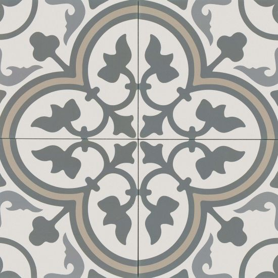 Tuscany 8 X 8 Floor Wall Tile In Taupe Blue Gry St Gry White By Bedrosian Tile Stone In 2020 Decorative Ceramic Tile Decorative Tile Ceramic Tiles