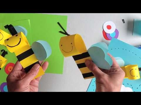 Bee Craft For Kids Youtube Bee Crafts For Kids Bee Crafts Crafts For Kids