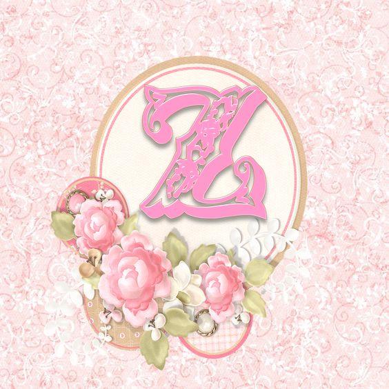 EUGENIA - KATIA ARTES - BLOG DE LETRAS PERSONALIZADAS E ALGUMAS COISINHAS: Alfabeto floral