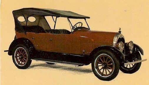 1921  Climber Model 6-50 Four Door Touring car. Climber Motor Corp. Little Rock, Ar.1919-1924