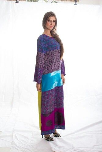 Violets & purples.. with a burst of velvet turquoise in the middle..miraj II collection 2013
