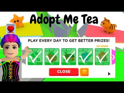 Mrsmeanclaw Youtube In 2020 My Tea Adoption Roblox