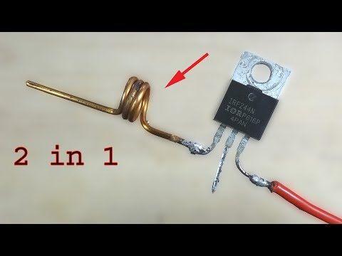 Awesome 2 In 1 Electronic Diy Circuit Using Irfz44n Youtube Diy Electronics Electronics Projects Diy Electronics Projects