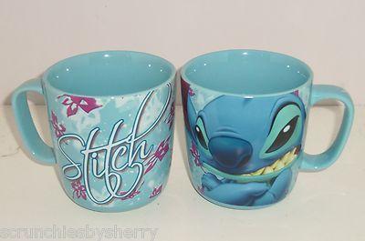 Disney Store Stitch Baby Blue Coffee Mug NEW