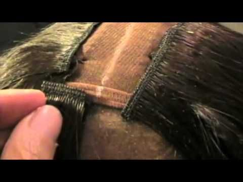 Invisible PART Weave *NEW TECHNIQUE Invisible Weave