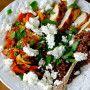garden herb & chicken health bowl | ChinDeep
