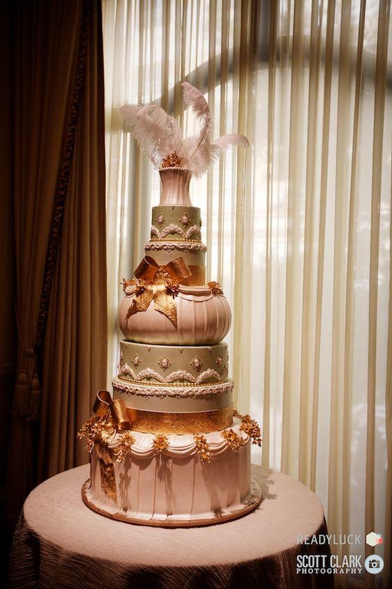 Bellagio wedding cake #Engage12