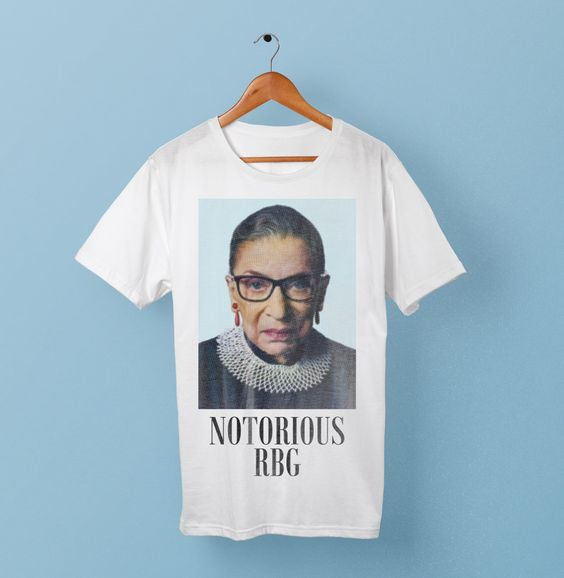 Notorious RBG Shirt - Political Supreme Court Justice T-Shirt by CapitalLaundry on Etsy https://www.etsy.com/listing/465956761/notorious-rbg-shirt-political-supreme