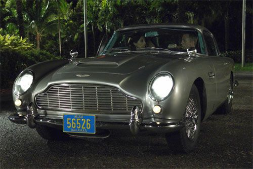 Vintage Aston Martin from Casino Royale