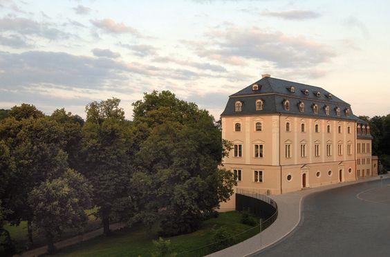 Das Historische Gebäude der Herzogin Anna Amalia Bibliothek.