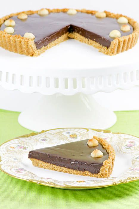 Chocolate Macadamia Nut Tart blends these flavors together for a ...