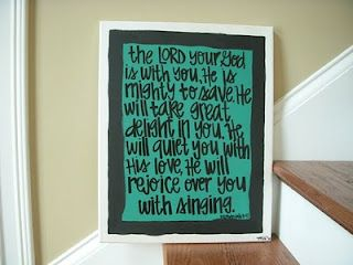 Whatever Is Lovely: Bible Verse Art on Etsy
