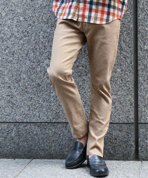 イージースリム coen easy slim 2018fw 男性ファッション アメカジ スリム