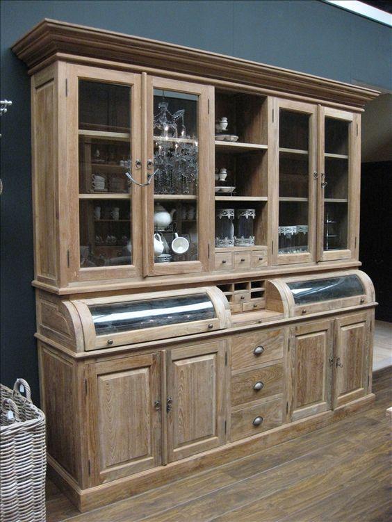 Buffetkast oud teak home decor huis inrichting pinterest products and teak - Deco keuken oud land ...
