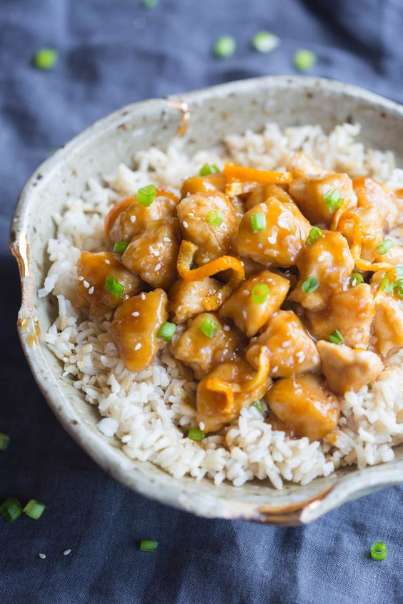 Better than take-out Orange Peel Chicken recipe that couldn't be easier to make…: