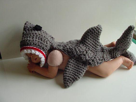 Newborn Shark
