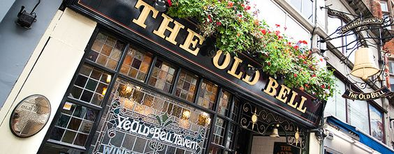 The Old Bell Tavern in Fleet Street London - Home