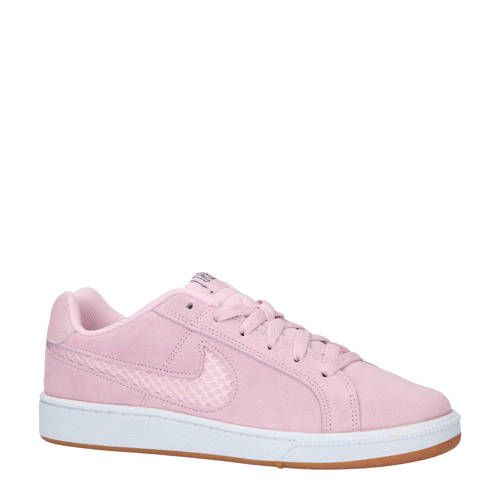 Nike Court Royale Premium suède sneakers gebroken wit - Nike ...