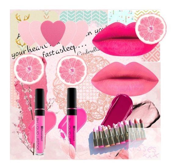"""""""Pink Pout x"""" by x-sophie-bates-x ❤ liked on Polyvore featuring beauty, York Wallcoverings, Lipstick Queen, Sephora Collection, Pier 1 Imports and NARS Cosmetics"""