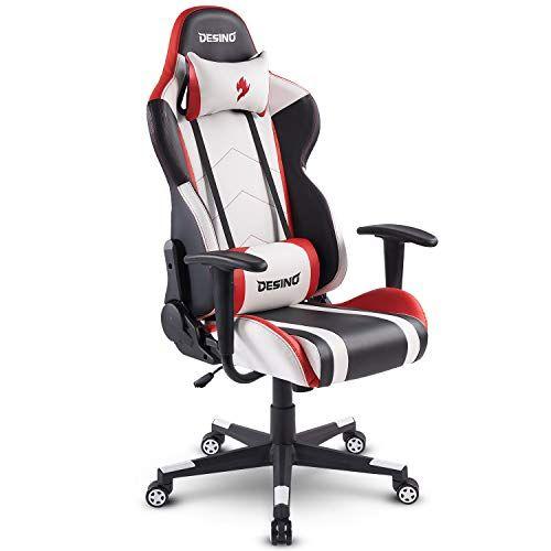 Desino Gaming Chair Racing Style Ergonomic Swivel Rolling Computer