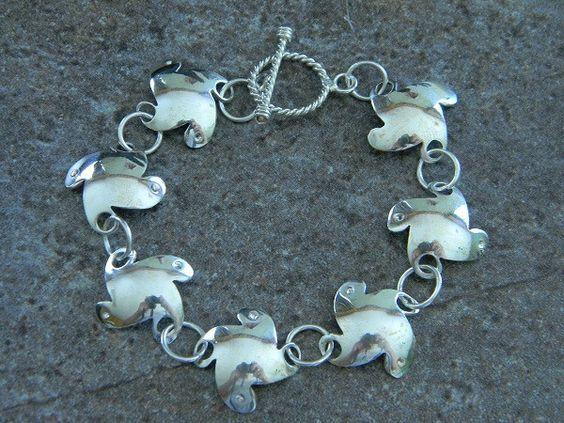 Sterling Silver Motion Bracelet