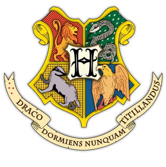 Heraldry coat of arms of taylor datoteka hogwarts coat of arms colored with - Harry potter blason ...
