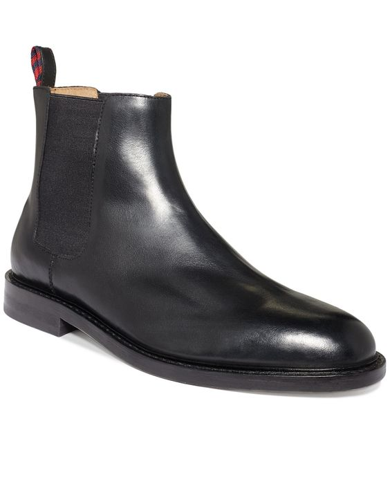 Polo Ralph Lauren Shoes, Newent Chelsea Boots - Shoes - Men - Macy\u0026#39;s | $198