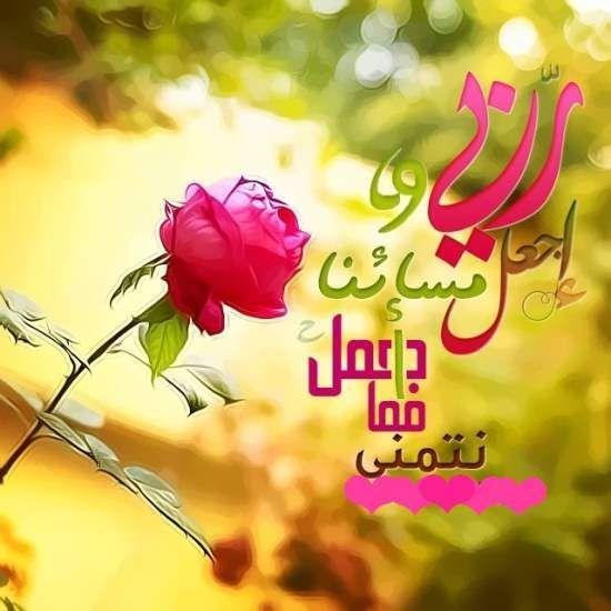 صور صباح الخير واجمل عبارات صباحية للأحبه والأصدقاء موقع مصري Neon Signs Arabic Words Good Evening