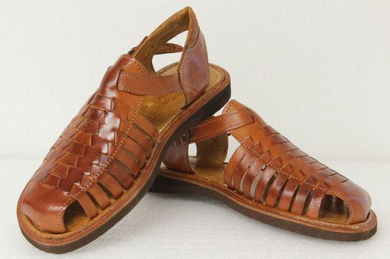 Genuine original authentic huaraches mexican sandals flip flop shoes mens 450 #HandMadeinMexico #HUARACHESSANDALSSLIPON
