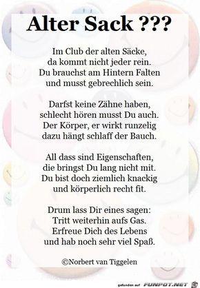 Alter Sack 2017 Mit Bildern Spruche Geburtstag Lustig