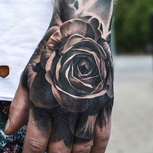 125 Best Hand Tattoos For Men Cool Designs Ideas 2019 Guide Hand Tattoos For Guys Tattoos For Guys Rose Hand Tattoo