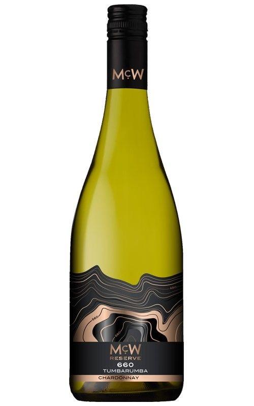 Mcwilliams Mcw 660 Reserve Chardonnay 2017 Tumbarumba 6 Bottles Chardonnay Bottle Wine Bottle