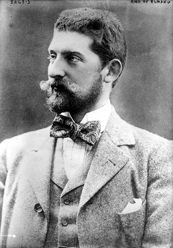 Prince Ferdinand in civil, 1900
