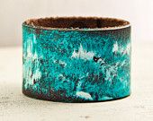 Turquoise Jewelry Leather Bracelets for Women