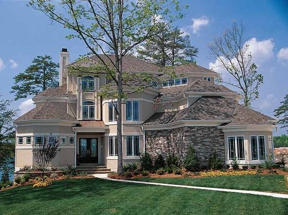 House plans mediterranean house plans and house on pinterest for Eplans mansions