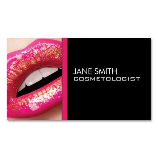 Makeup Artist Cosmetologist Cosmetology Elegant Business Card Templates. This great business card design is available for customization. All text style, colors, sizes can be modified to fit your needs. Just click the image to learn more!