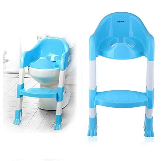 Tatayung Potty Toilet Seat With Step Stool Ladder Potty Training
