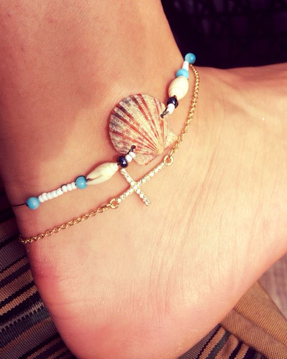 Summer anklets! #summer #anklet