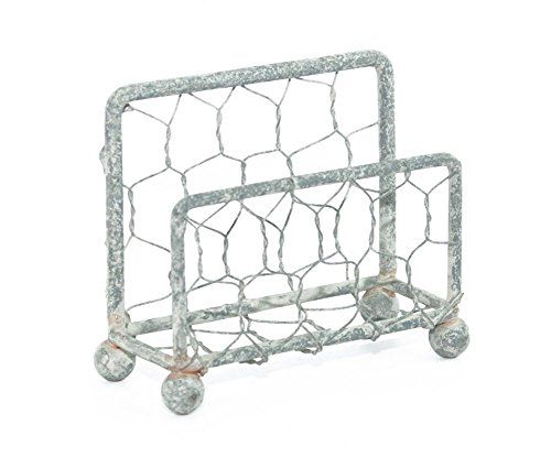 Chicken Wire Business Card Holder with Barn Roof Finish Colonial Tin Works http://www.amazon.com/dp/B00RJJ9DM6/ref=cm_sw_r_pi_dp_Dqf9wb0HBSWAA