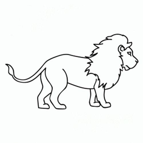 Aprende Como Dibujar Un Leon Paso A Paso De Una Manera Facil Disenos Aptos Para Ninos Como Dibujar Animales Aprender A Dibujar Animales Dibujos De Animales