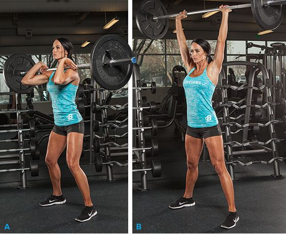 Learn the olympic lifts snatch and clean jerk